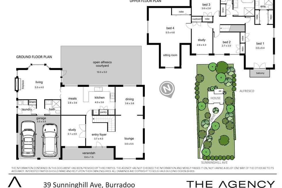 Floorplan of Homely house listing, 39 Sunninghill Avenue, Burradoo NSW 2576
