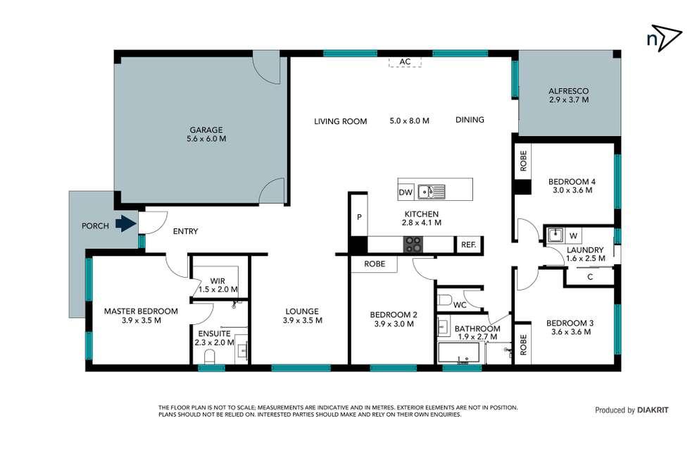 Floorplan of Homely house listing, 30 Bellavista Drive, Wollert VIC 3750