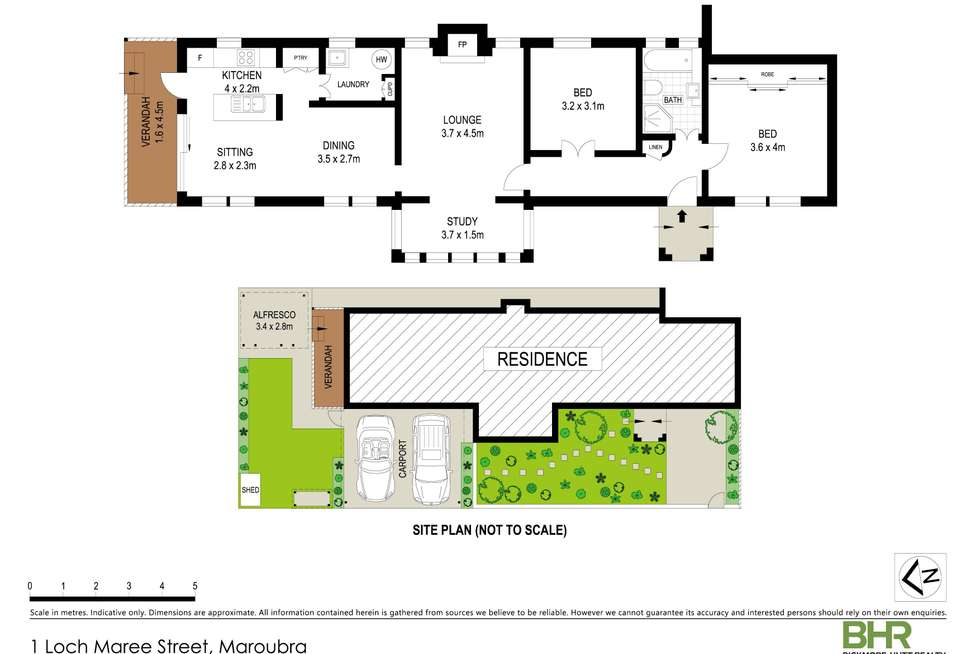 Floorplan of Homely house listing, 1 Loch Maree Street, Maroubra NSW 2035
