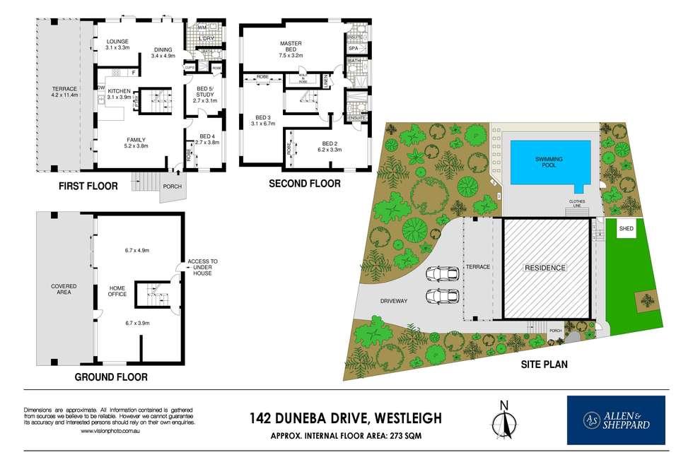 Floorplan of Homely house listing, 142 Duneba Drive, Westleigh NSW 2120