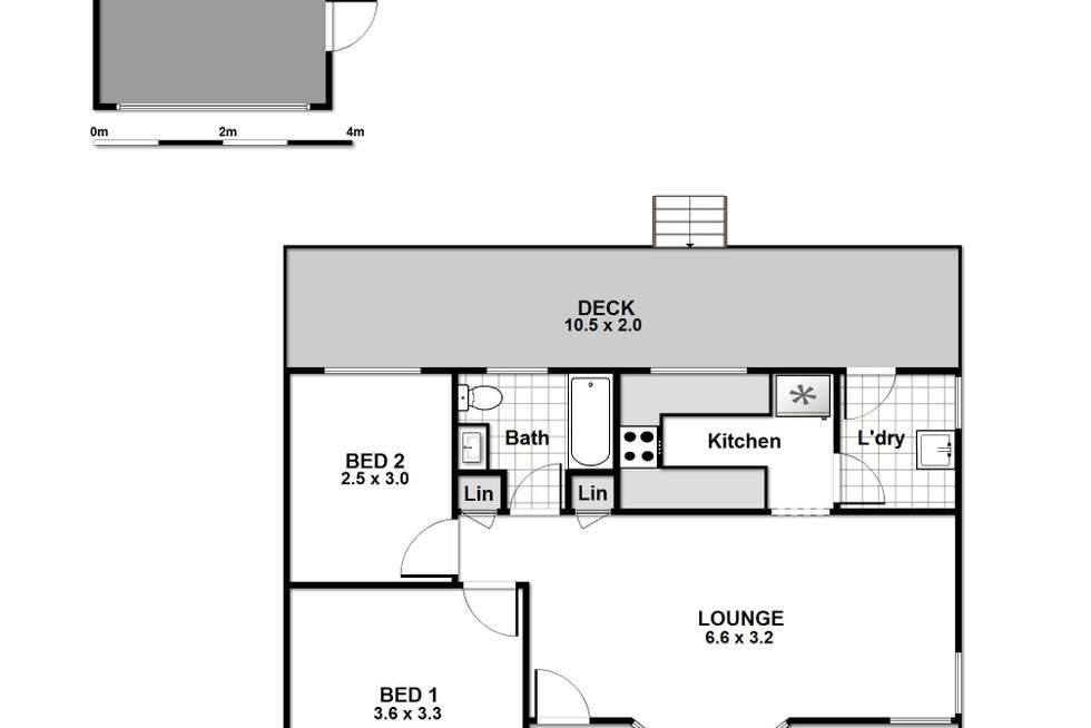 Floorplan of Homely house listing, 44 Fitzpatrick Street, Old Erowal Bay NSW 2540