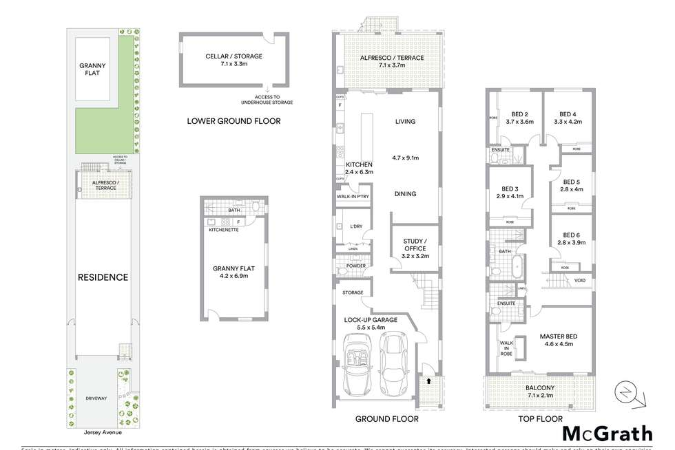 Floorplan of Homely house listing, 59a Jersey Avenue, Mortdale NSW 2223