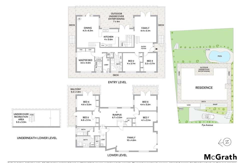 Floorplan of Homely house listing, 17 Pye Avenue, Northmead NSW 2152