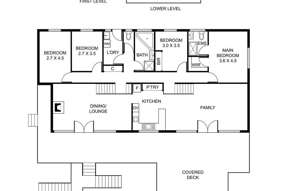 Floorplan of Homely house listing, 26 Mt View Road, Ferny Creek VIC 3786