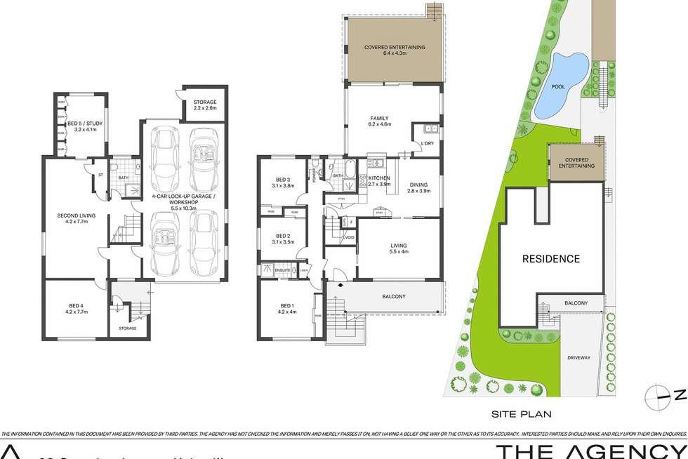 Floorplan of Homely house listing, 20 Georgina Avenue, Keiraville NSW 2500