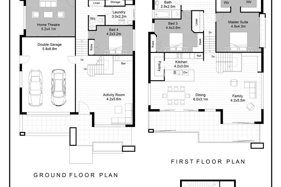 Floorplan of Homely house listing, 333 Elizabeth Drive, Vincentia NSW 2540