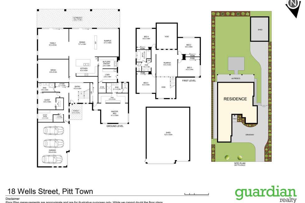 Floorplan of Homely house listing, 18 Wells Street, Pitt Town NSW 2756