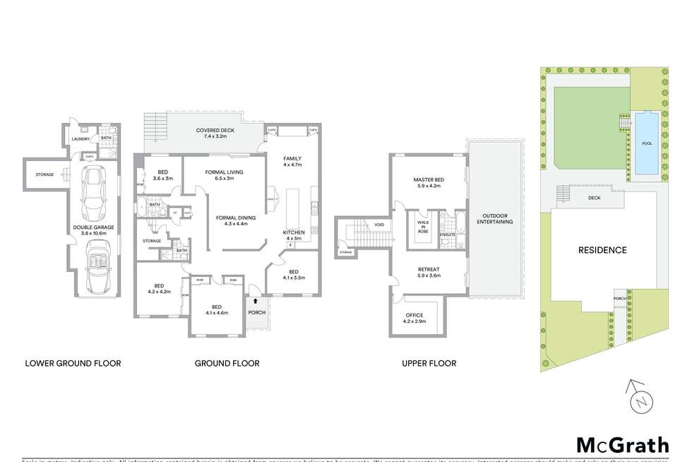 Floorplan of Homely house listing, 18 Upper Cliff Road, Northwood NSW 2066