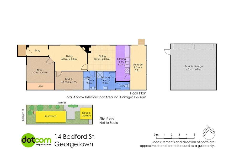 Floorplan of Homely house listing, 14 Bedford Street, Georgetown NSW 2298