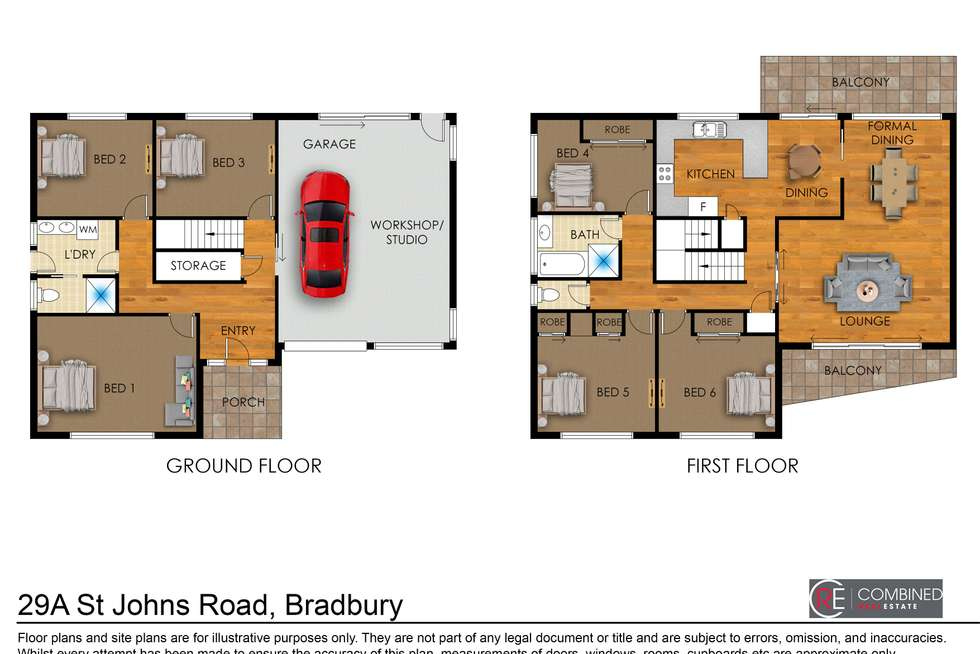Floorplan of Homely house listing, 29A St Johns Road, Campbelltown NSW 2560