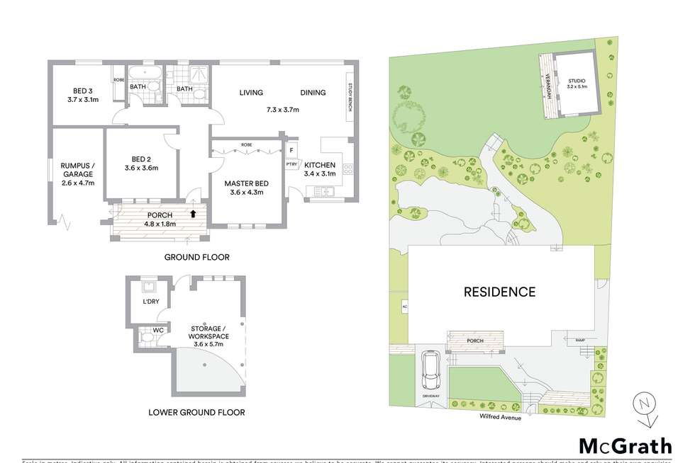 Floorplan of Homely house listing, 47 Wilfred Avenue, Chatswood NSW 2067