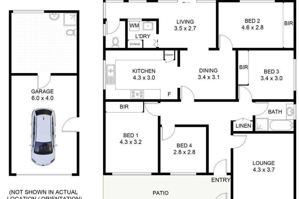 Floorplan of Homely house listing, 86 Robsons Road, Keiraville NSW 2500