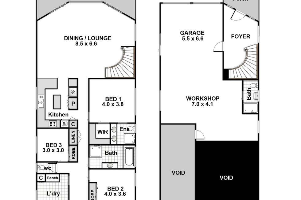 Floorplan of Homely house listing, 6 Twyford Street, Vincentia NSW 2540