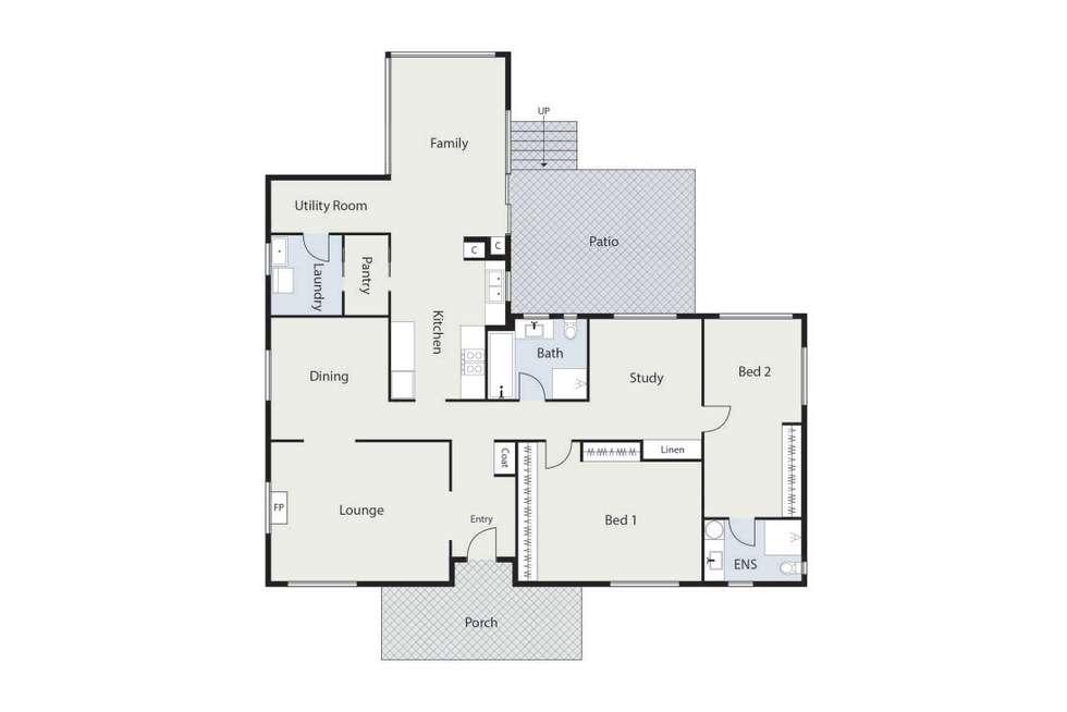 Floorplan of Homely house listing, 7 Gipps Street, Barton ACT 2600