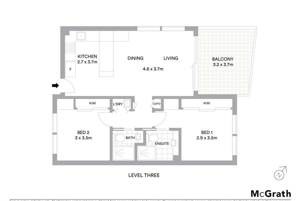 Floorplan of Homely unit listing, 25/19 Shine Court, Birtinya QLD 4575
