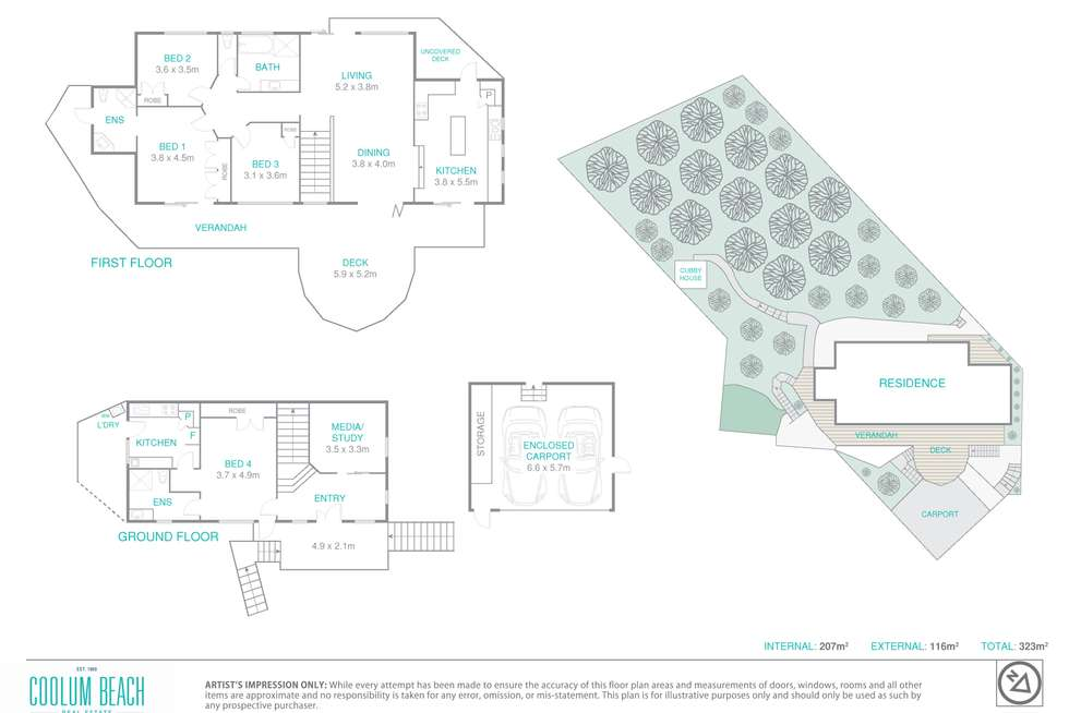 Floorplan of Homely house listing, 17 Karingal Court, Mount Coolum QLD 4573