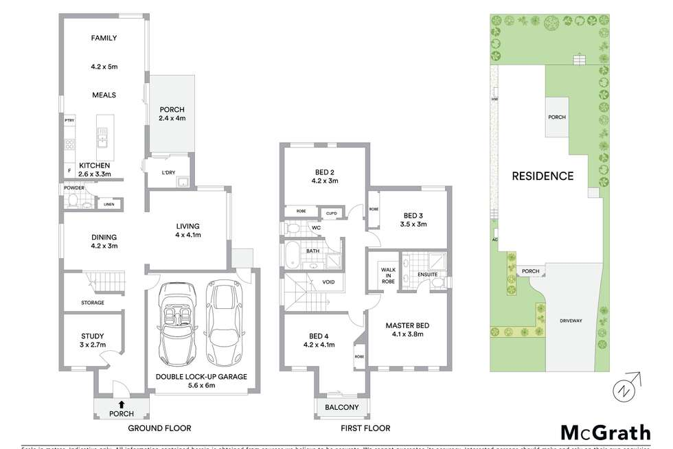 Floorplan of Homely house listing, 13 Courtley Avenue, Kellyville Ridge NSW 2155