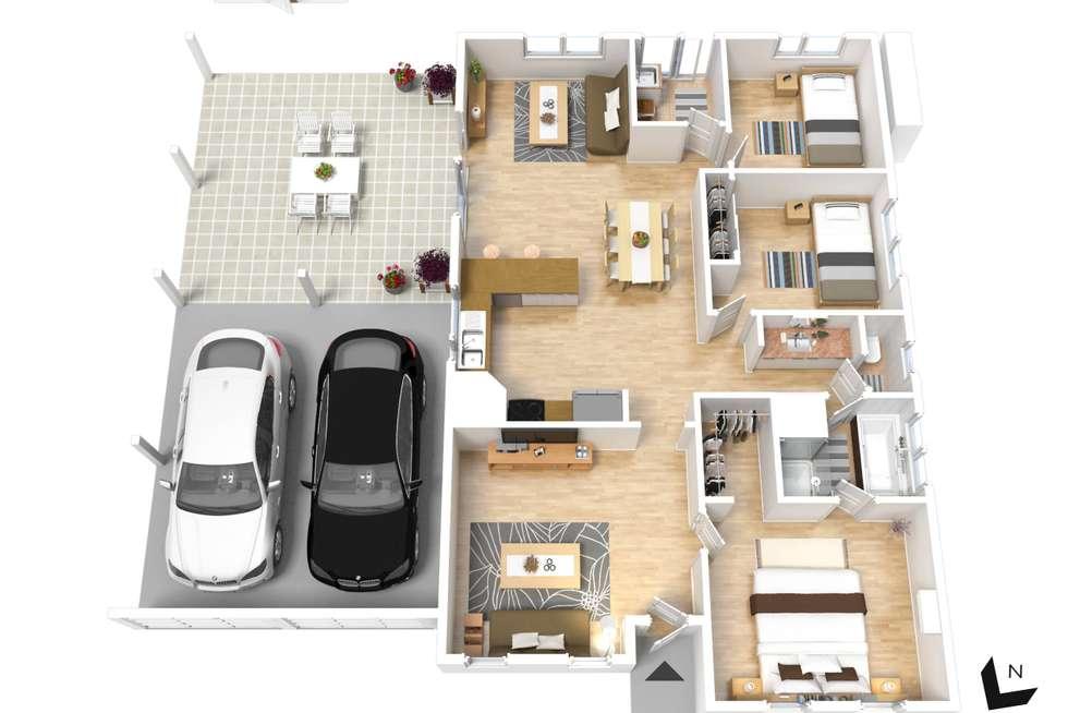 Floorplan of Homely house listing, 70 Rosalie Terrace, Parafield Gardens SA 5107