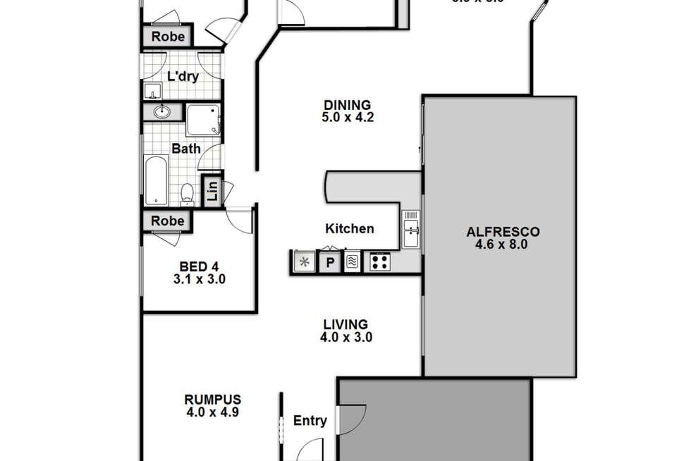 Floorplan of Homely house listing, 10 Kurraba Place, St Georges Basin NSW 2540