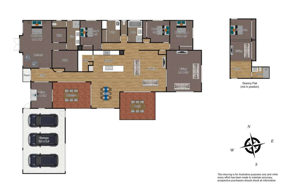 Floorplan of Homely house listing, 19 Tranquillity Place, Beaconsfield VIC 3807