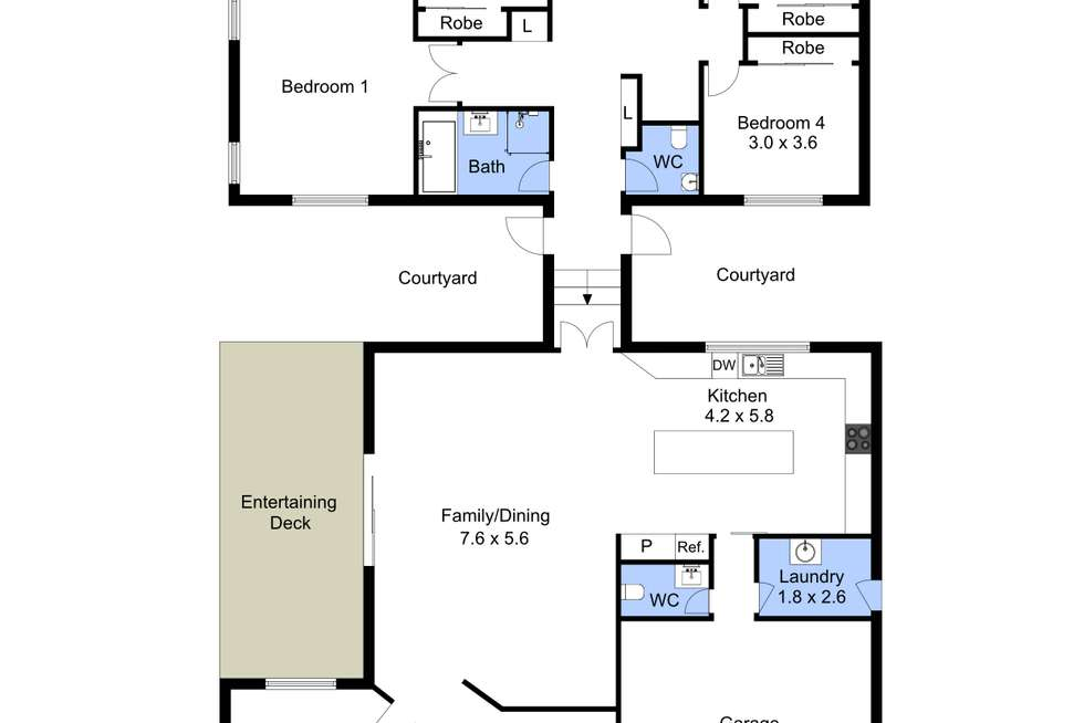 Floorplan of Homely house listing, 14 Illawong Road, Summerland Point NSW 2259