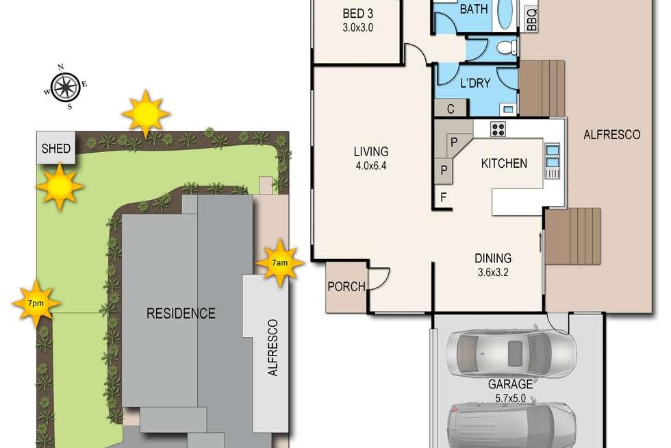 Floorplan of Homely house listing, 3 Tambo Court, Langwarrin VIC 3910