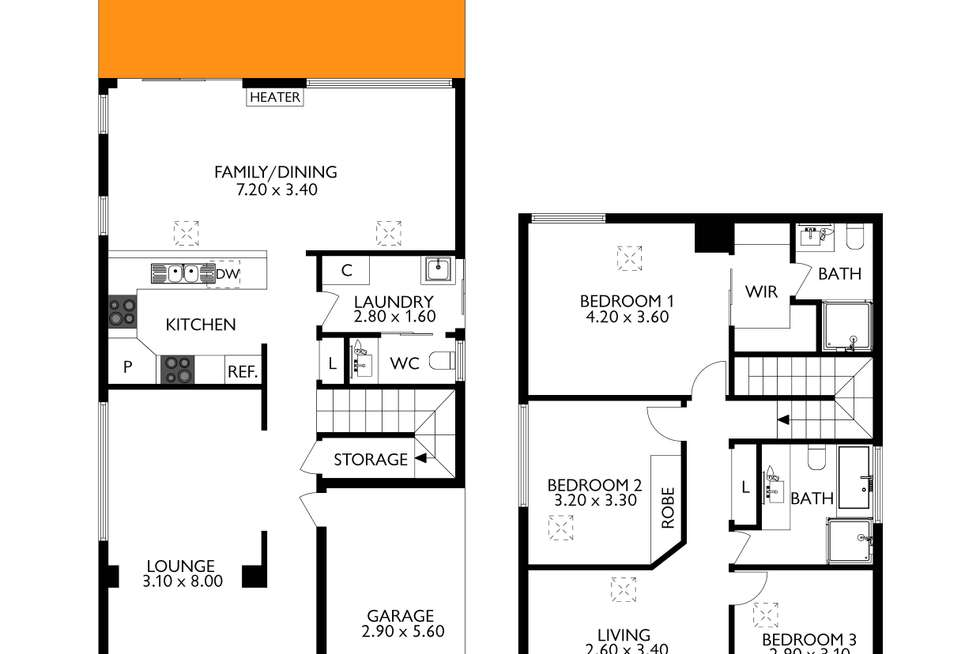 Floorplan of Homely house listing, 138 One And All Drive, North Haven SA 5018