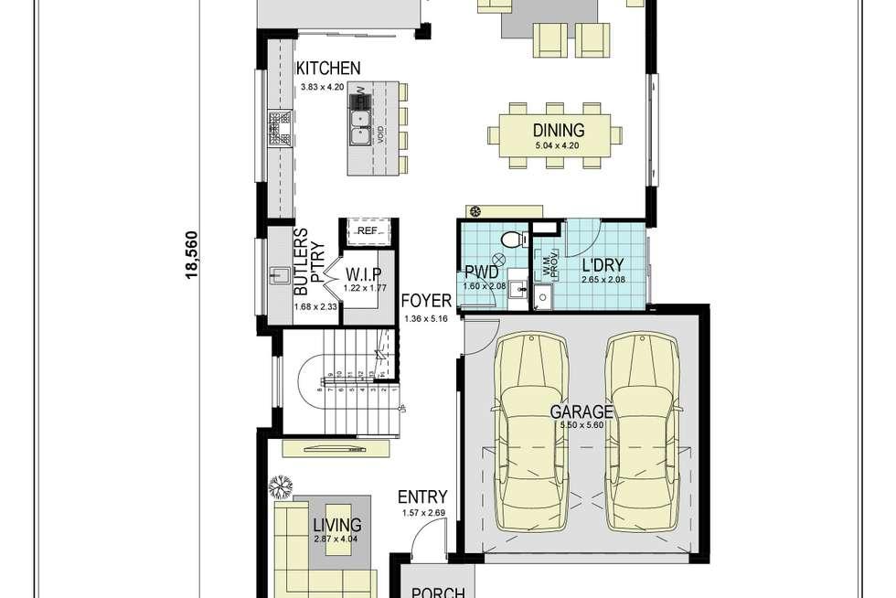 Floorplan of Homely house listing, 99 Jamboree Avenue, Leppington NSW 2179