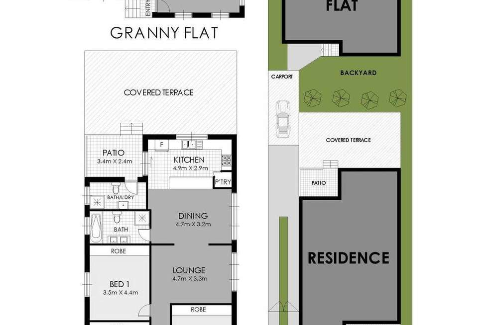 Floorplan of Homely house listing, 28a Union Road, Auburn NSW 2144