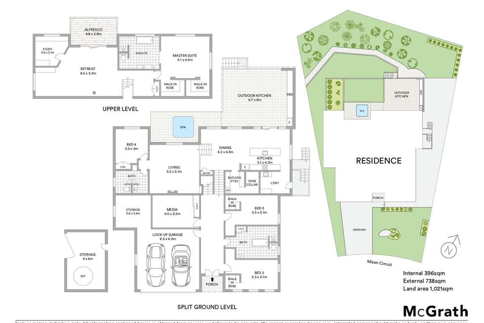 Floorplan of Homely house listing, 34 Mison Circuit, Mollymook NSW 2539