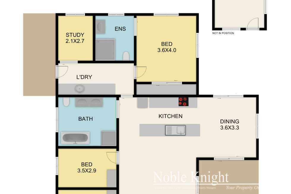 Floorplan of Homely house listing, 10 Melbourne Road, Yea VIC 3717