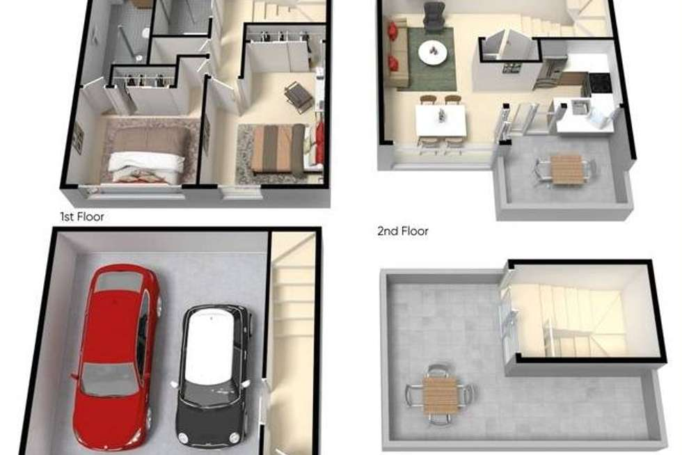 Floorplan of Homely townhouse listing, 20/55 Gadd Street, Northcote VIC 3070
