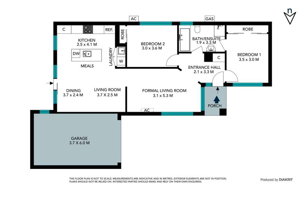 Floorplan of Homely unit listing, 4/45 Rufus Street, Epping VIC 3076
