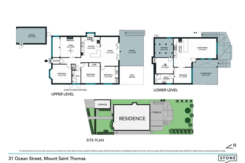 Floorplan of Homely house listing, 31 Ocean Street, Mount Saint Thomas NSW 2500