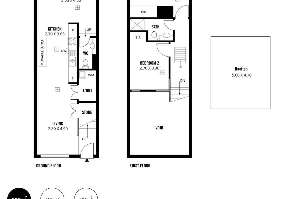 Floorplan of Homely apartment listing, 42/237 Wakefield Street, Adelaide SA 5000