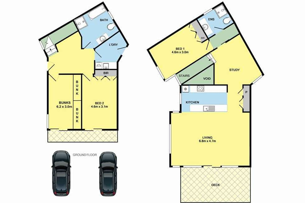 Floorplan of Homely house listing, 2/21 Deans Marsh Road, Lorne VIC 3232
