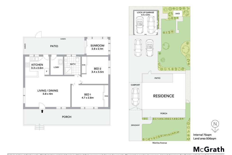 Floorplan of Homely house listing, 5 Warrina Avenue, Summerland Point NSW 2259