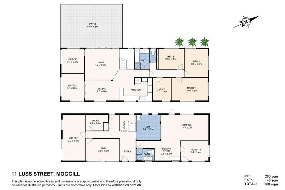 Floorplan of Homely house listing, 11 Luss Street, Moggill QLD 4070