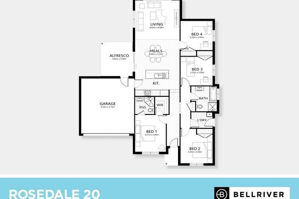 Floorplan of Homely house listing, Level 168/3 Meramie Street, Mudgee NSW 2850