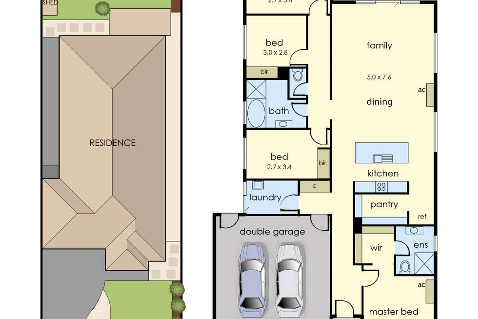 Floorplan of Homely house listing, 8 Kotiko Road, Keysborough VIC 3173
