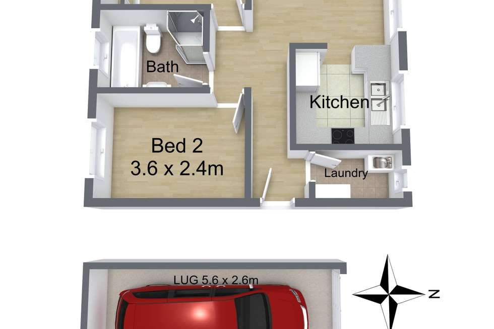 Floorplan of Homely unit listing, 13A/31 Quirk Road, Manly Vale NSW 2093