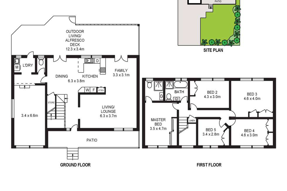 Floorplan of Homely house listing, 38 Watson Drive, Penrith NSW 2750