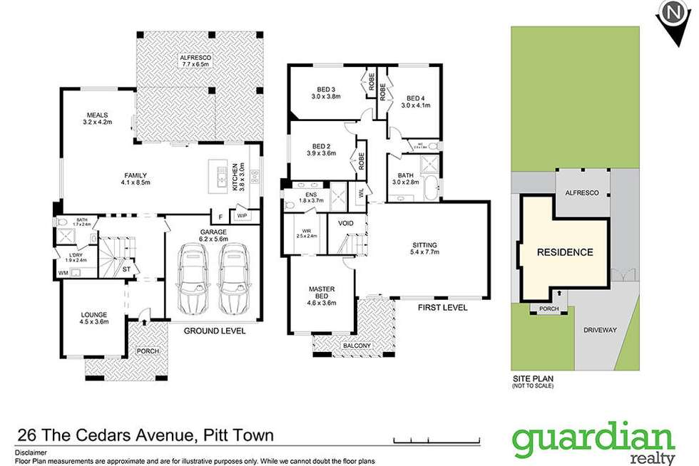 Floorplan of Homely house listing, 26 The Cedars Avenue, Pitt Town NSW 2756