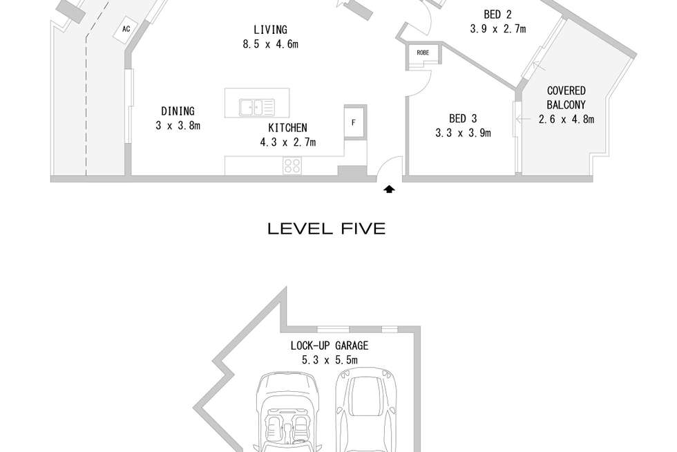 Floorplan of Homely apartment listing, 34/12-14 Benedict Court, Holroyd NSW 2142