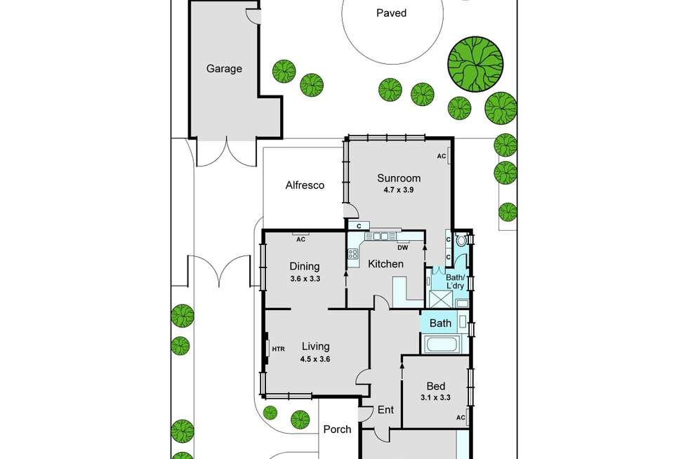 Floorplan of Homely house listing, 16 Dermot Street, Oakleigh South VIC 3167