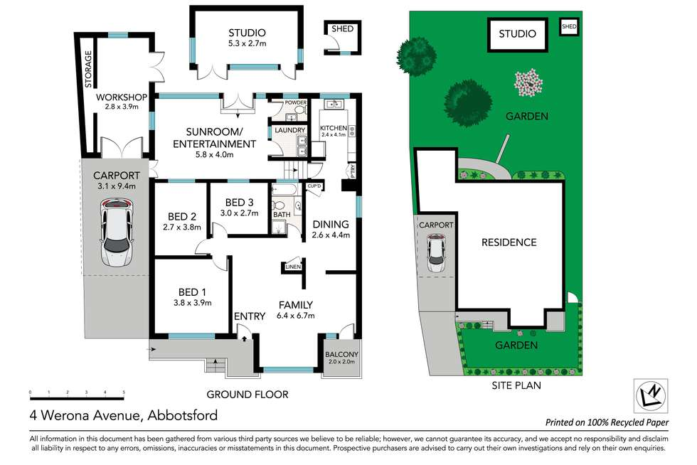 Floorplan of Homely house listing, 4 Werona Avenue, Abbotsford NSW 2046