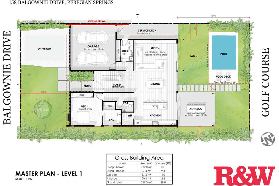 Floorplan of Homely house listing, 158 Balgownie Drive, Peregian Springs QLD 4573