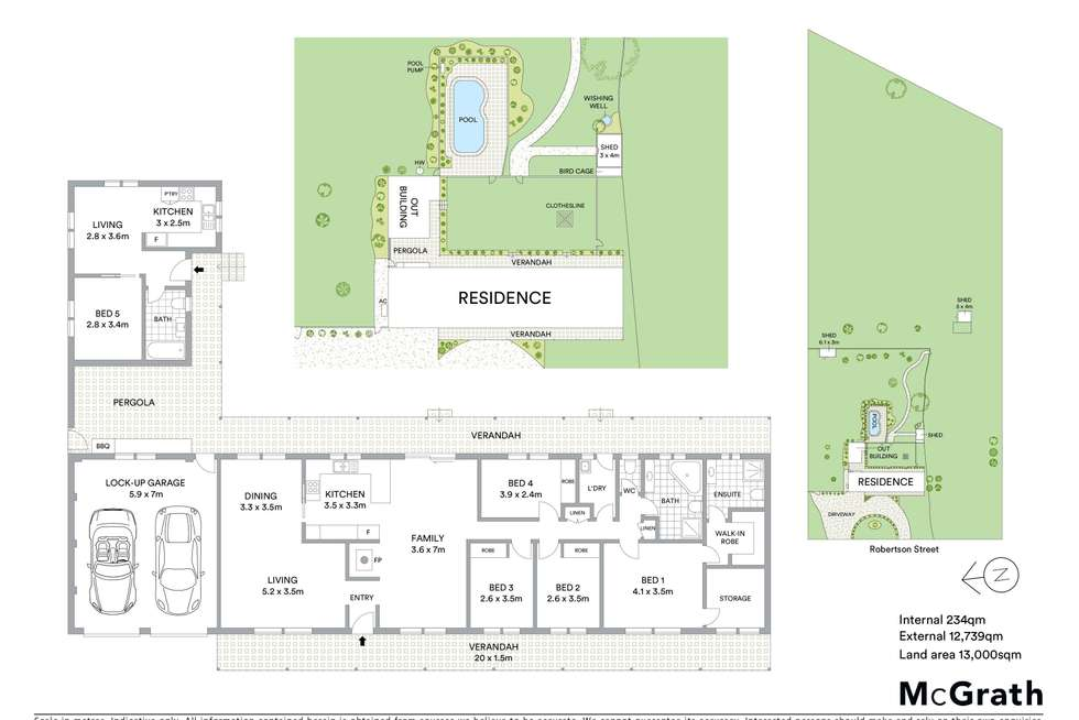 Floorplan of Homely house listing, 159 Robertson Road, Mudgee NSW 2850