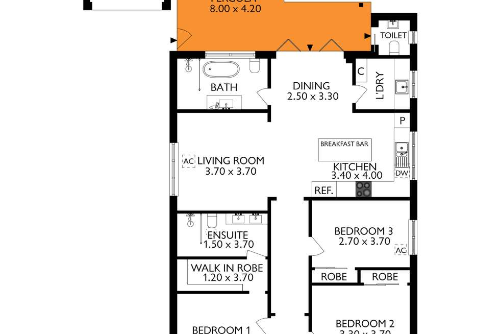 Floorplan of Homely house listing, 47 Emilie Street, Sefton Park SA 5083