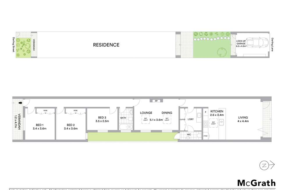 Floorplan of Homely house listing, 11 Darling Street, Kensington NSW 2033